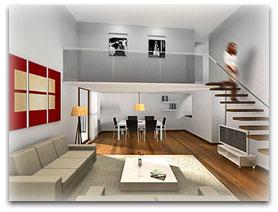planos de casas loft en 3d