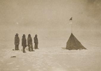 Hallada_unica_foto_explorador_Amundsen_Polo_Sur