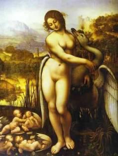 leonardo-da-vinci-painting-leda-and-the-swan