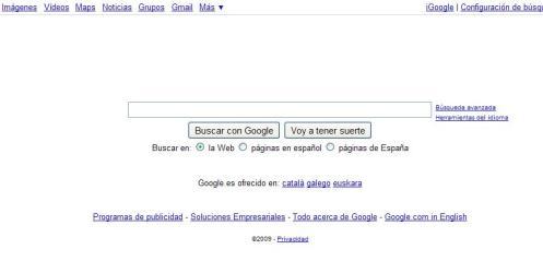 google sin google